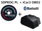 Interfejs iCar3 OBD2 Bluetooth + polski program SDPROG