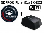 Interfejs iCar3 OBD2 WiFi + polski program SDPROG