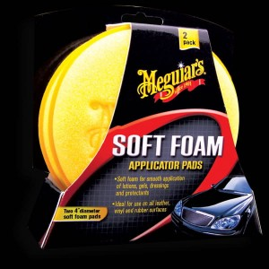 Aplikator MEGUIARS Soft Foam Applicator Pad (2 sztuki)